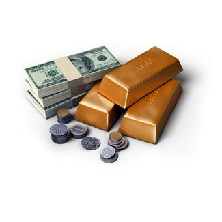 lingot et argent