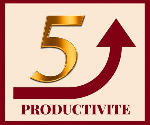 5 Changements tous simples pour booster votre Productivité